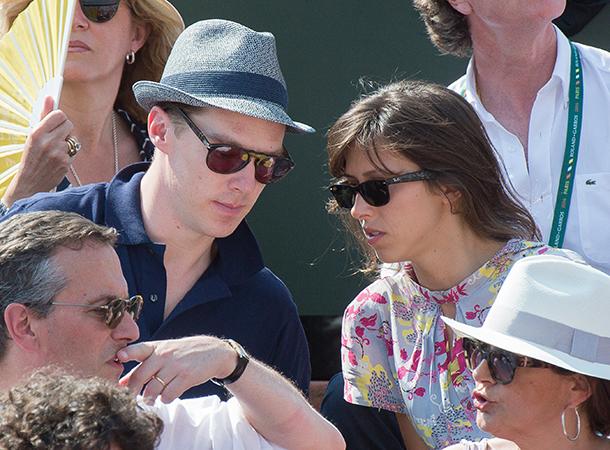 Benedict Cumberbatch Sophi Hunter