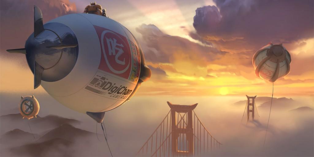 Big Hero 6 San Fransokyo