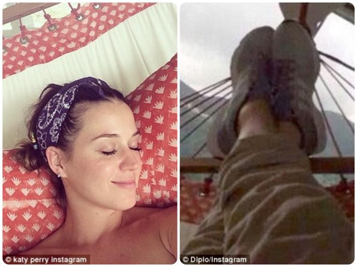 Diplo Katy Perry Instagram