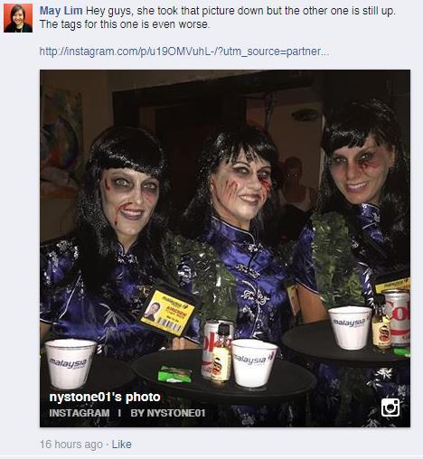 FlightMH370 Halloween Costume Dead Stewardesses