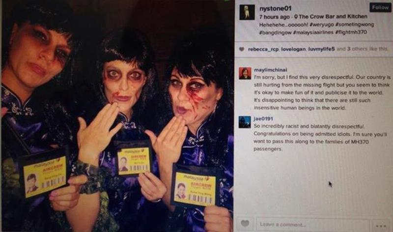 Halloween MH370 Dead Stewardesses