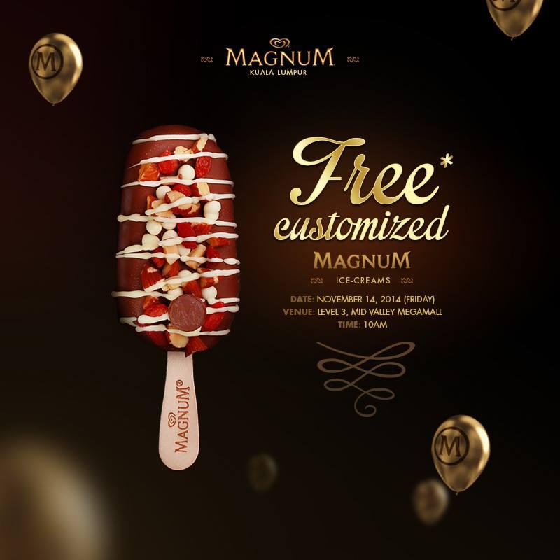 Magnum Free Customised Ice Cream
