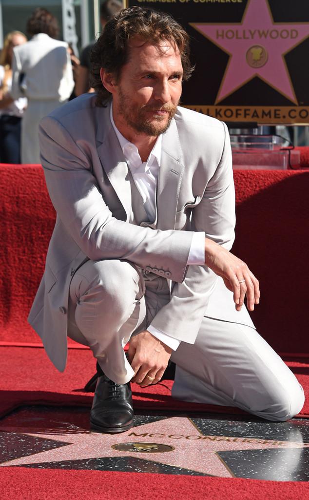 Matthew McConaughey Hollywood Star