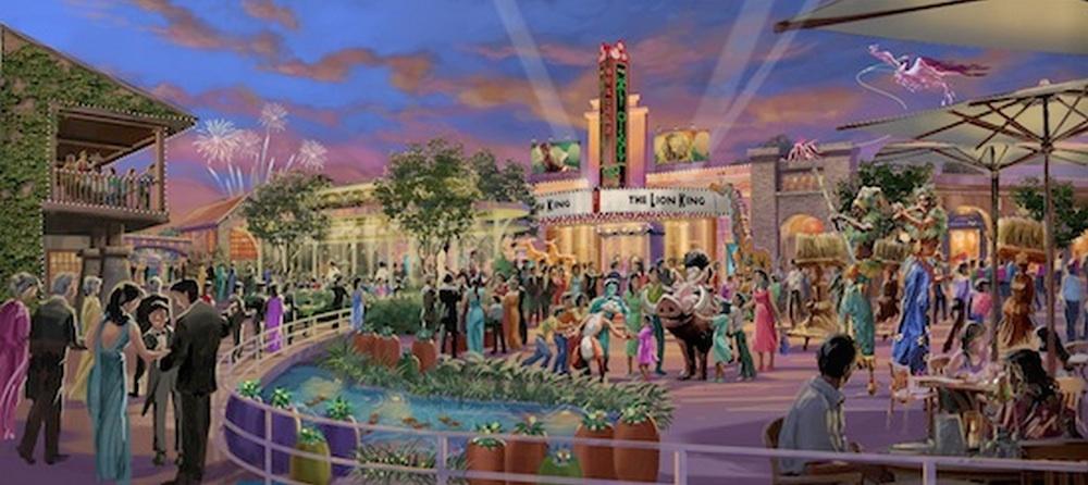 Shanghai Disney Resort Broadway Plaza