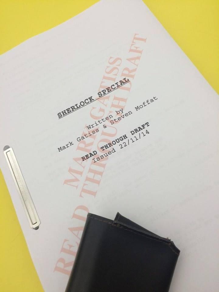 Sherlock Special Draft