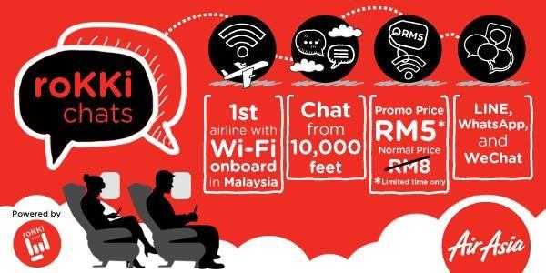 roKKi Chats AirAsia
