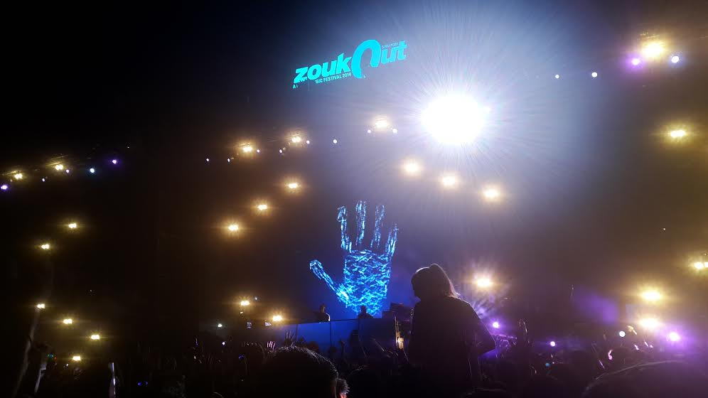 Above & Beyond ZoukOut 2014