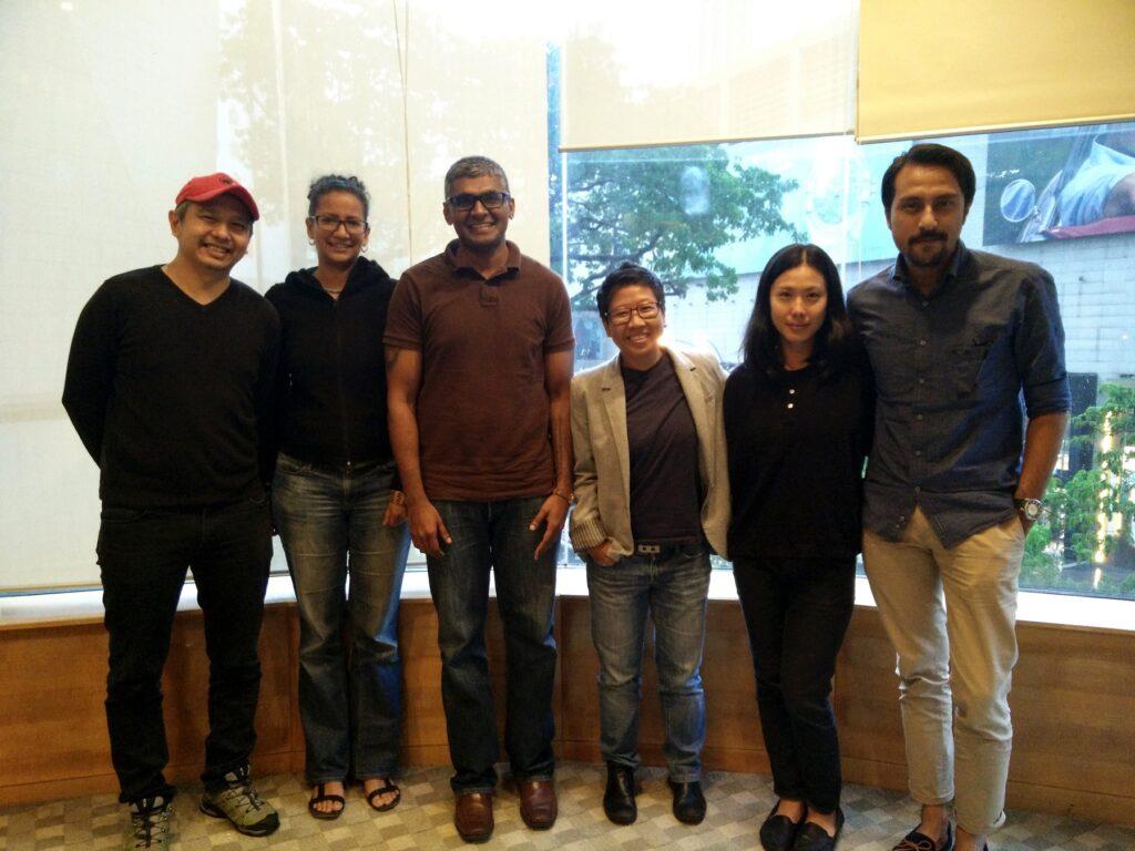 (From L-R): Chiu Keng Guan, Nandita Solomon, Sashi Ambi, Lina Tan, Tan Chui Mui, & Bront Palarae.