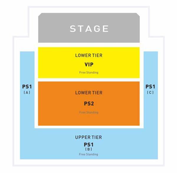 Christina Perri Live In KL 2015 Venue Layout