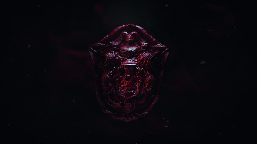 Crimson Peak - Skull Logo