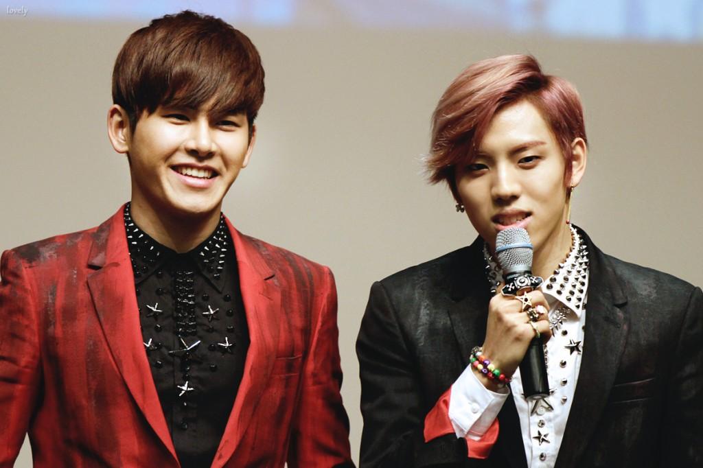 Infinite H Hoya and Dongwoo