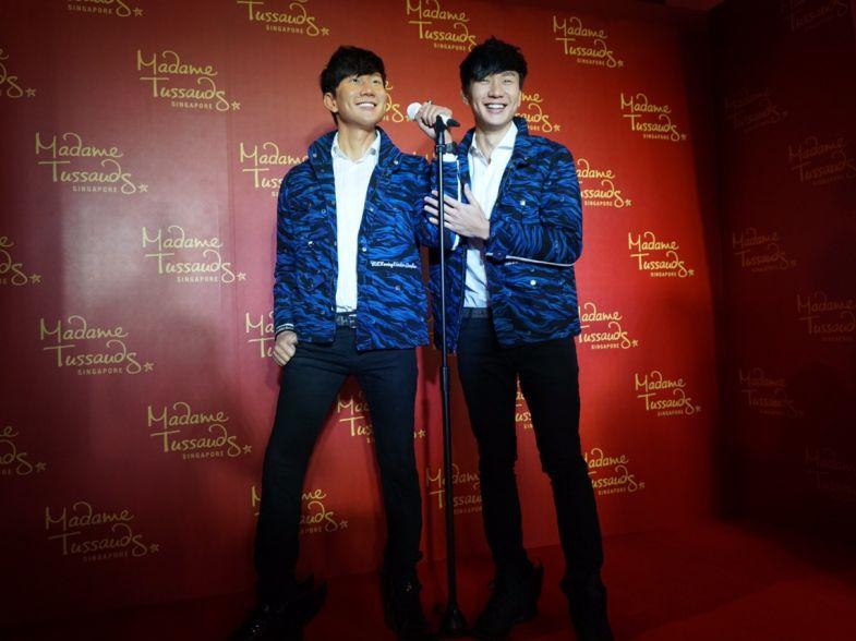 JJ Lin Madame Tussauds SG