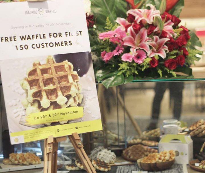 Madame Waffle Free Waffles