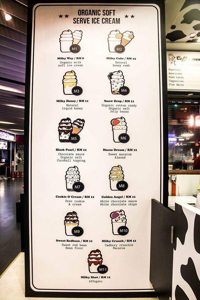Milkcow Ice Cream Flavour & Price