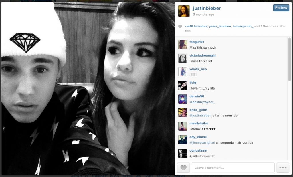 Source: Justin Bieber's Instagram