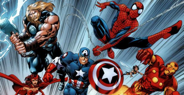 Spider Man & Avengers