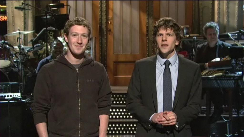 Mark Zuckerberg & Jesse Eisenberg