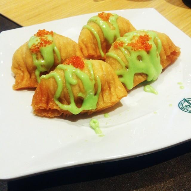 Tim Ho Wan - Wasabi Salad Prawn Dumpling