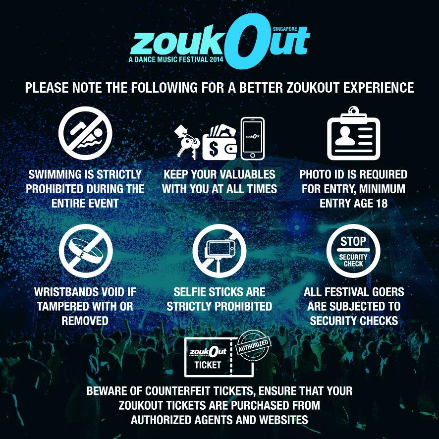 ZoukOut 2014 Essentials