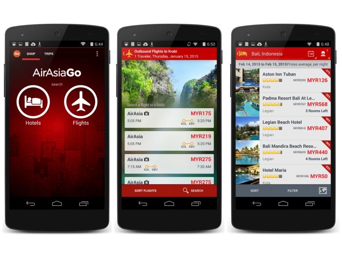 AirAsiaGo Mobile App