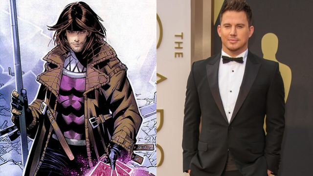 Channing Tatum as Gambit