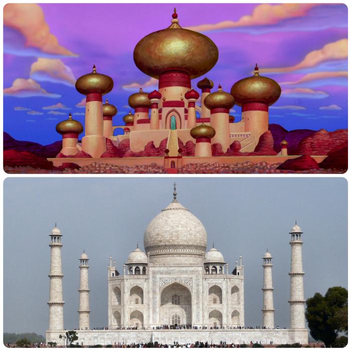 Disney Aladdin's Palace Real Place