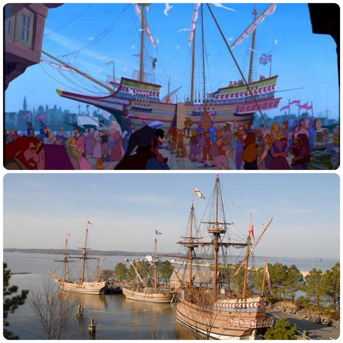 Disney Pocahontas Real Place