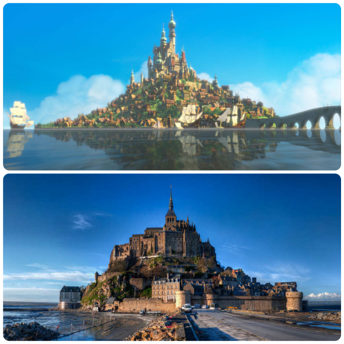 Disney Tangled Real Place
