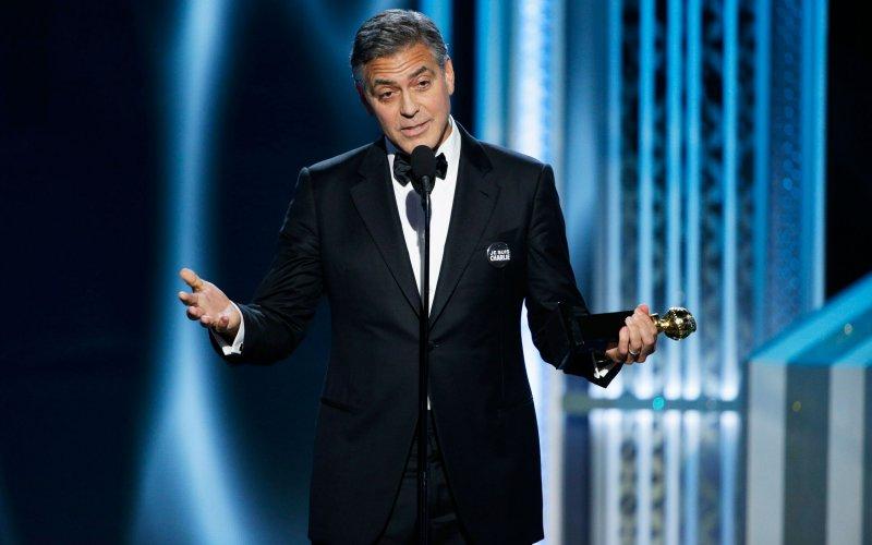 Golden Globes Georgy Clooney
