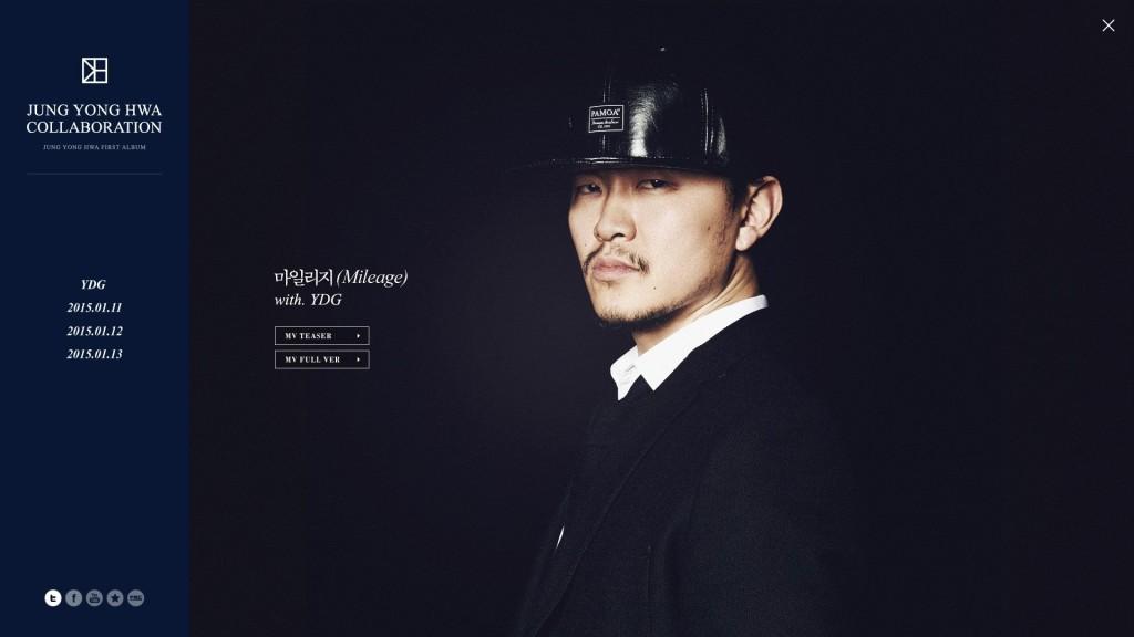 Jung Yong Hwa 1st Collaboration Artist - Yang Dong Keun