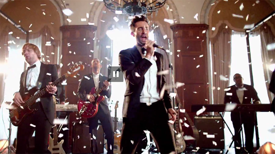 "#Maroon5: Band Didn't Really Crash Weddings In ""Sugar"" MV"