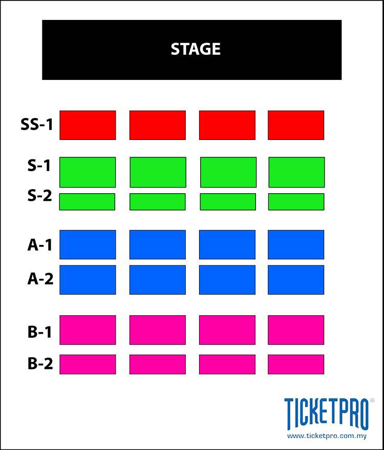 Naruto Malaysia Seating Chart