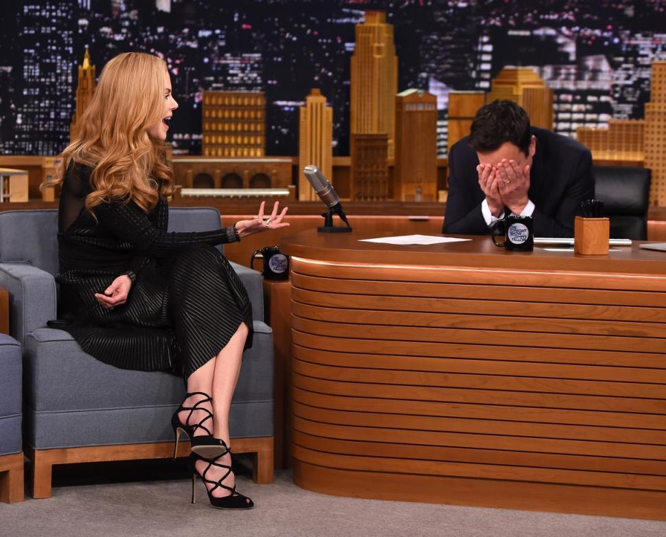 Nicole Kidman Jimmy Fallon