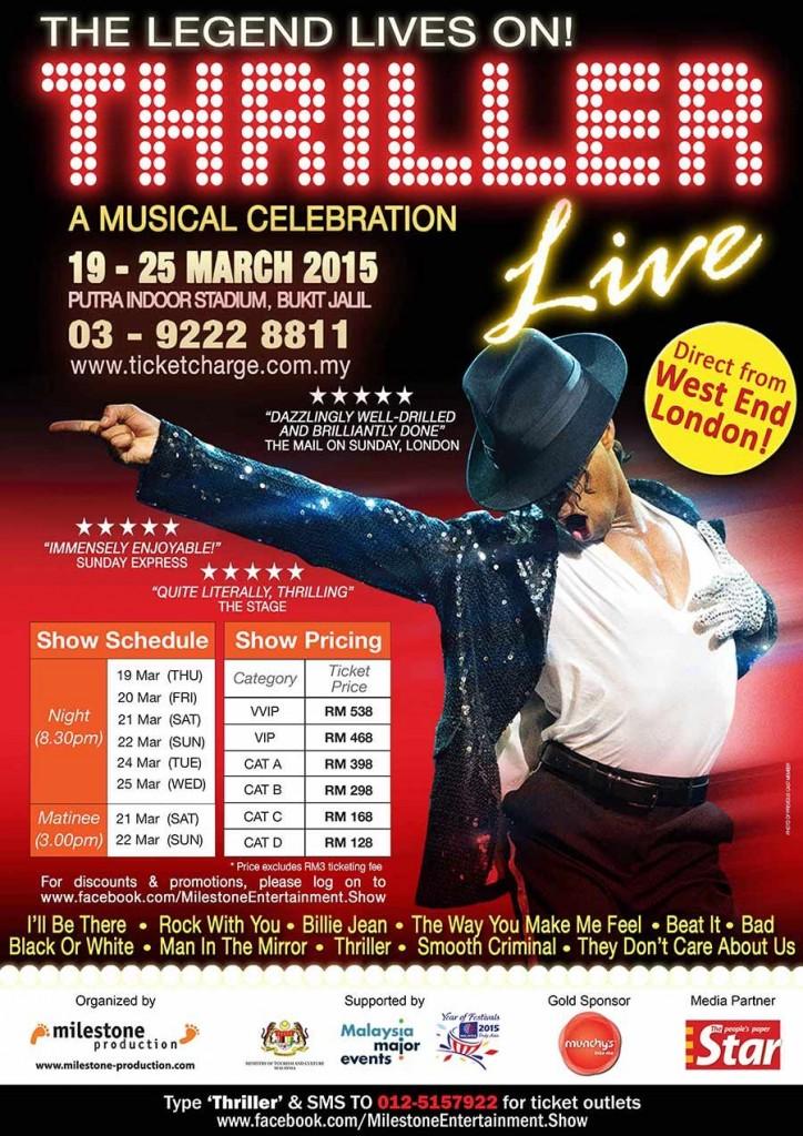 Thriller Live Malaysia