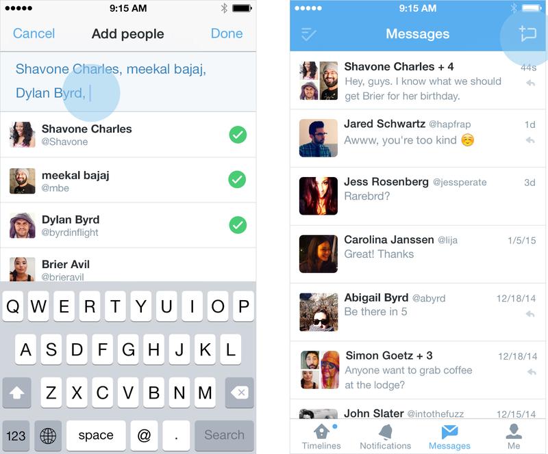 Twitter Group DM