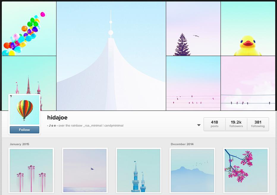 hidajoe Instagram