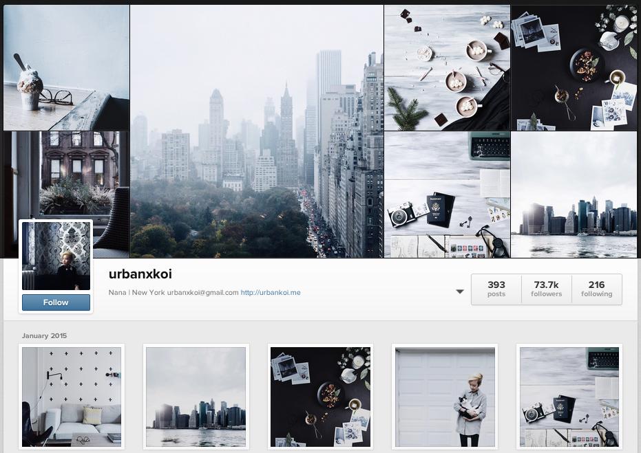 urbanxkoi Instagram