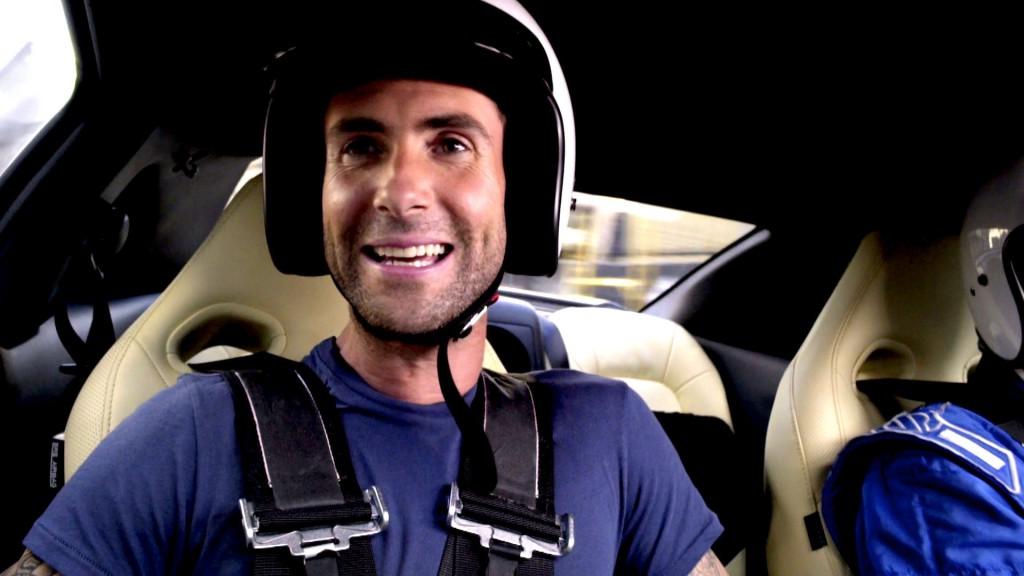 Adam Levine Nissan GTR Challenge