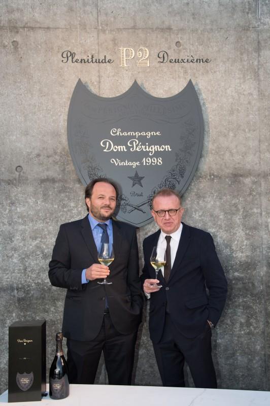 Arnaud de Saignes and Richard Geoffroy