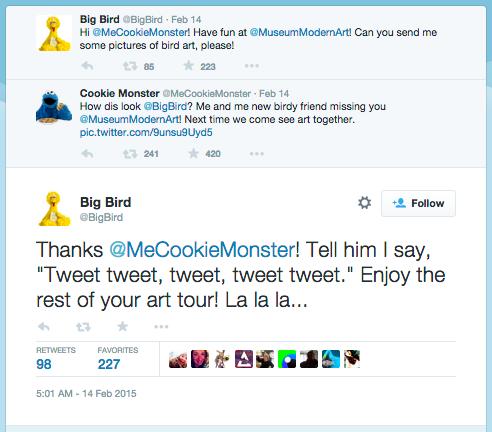 Big Bird Twitter
