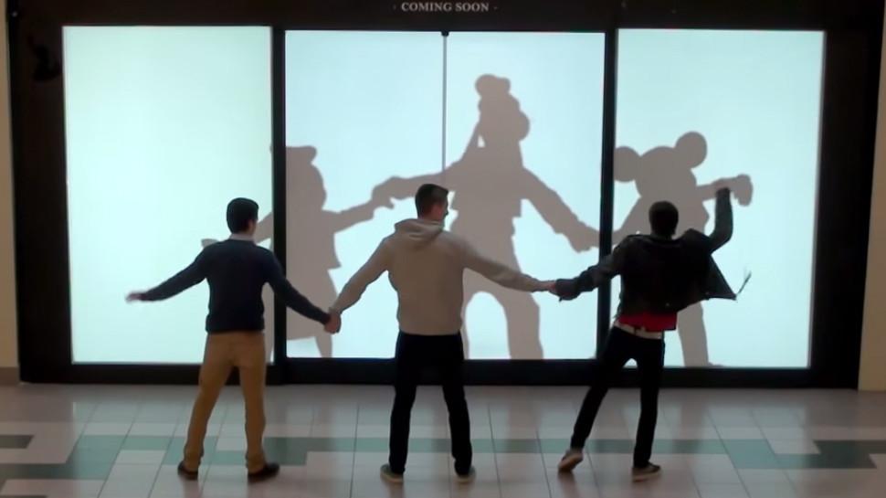 Disneyside Mall Surprise