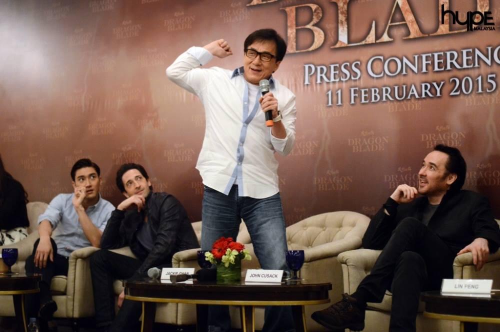 Jackie Chan Dragon Blade PC Malaysia