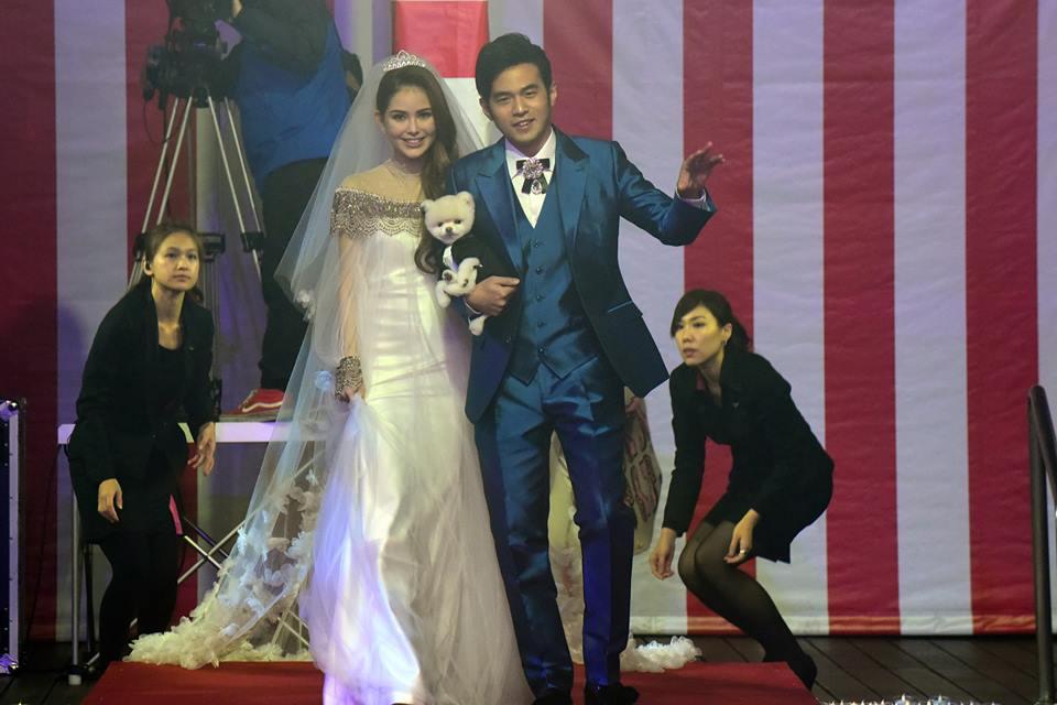 Jay Chou & Hannah Quinlivan Taiwan Wedding
