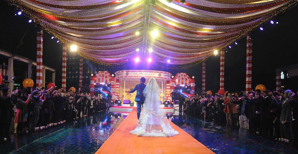 Jay Chou Taiwan Wedding