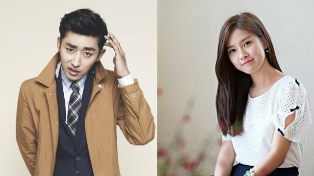 Kim So Eun and Son Ho Joon