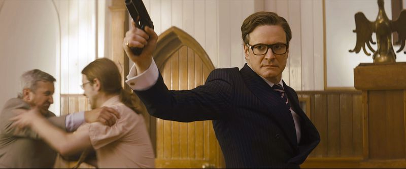 Kingsman The Secret Service - Colin Firth Fight Scene