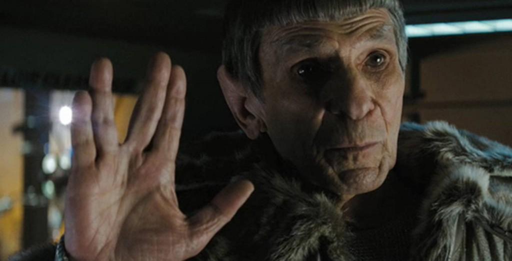 """Leonard Nimoy as old Spock in """"Star Trek Into Darkness"""" (2013)"""
