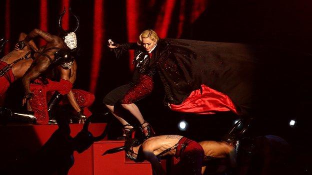 Madonna Brit Awards 2015 Fall