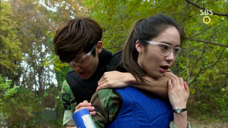 "A scene from Korean TV series, ""The Heirs"" aka ""왕관을 쓰려는 자, 그 무게를 견뎌라 – 상속자들"""