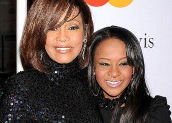 Bobbi Kristina Brown with the late Whitney Houston (Source: ABC News)